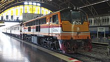 Pattaya ve Bangkok treni